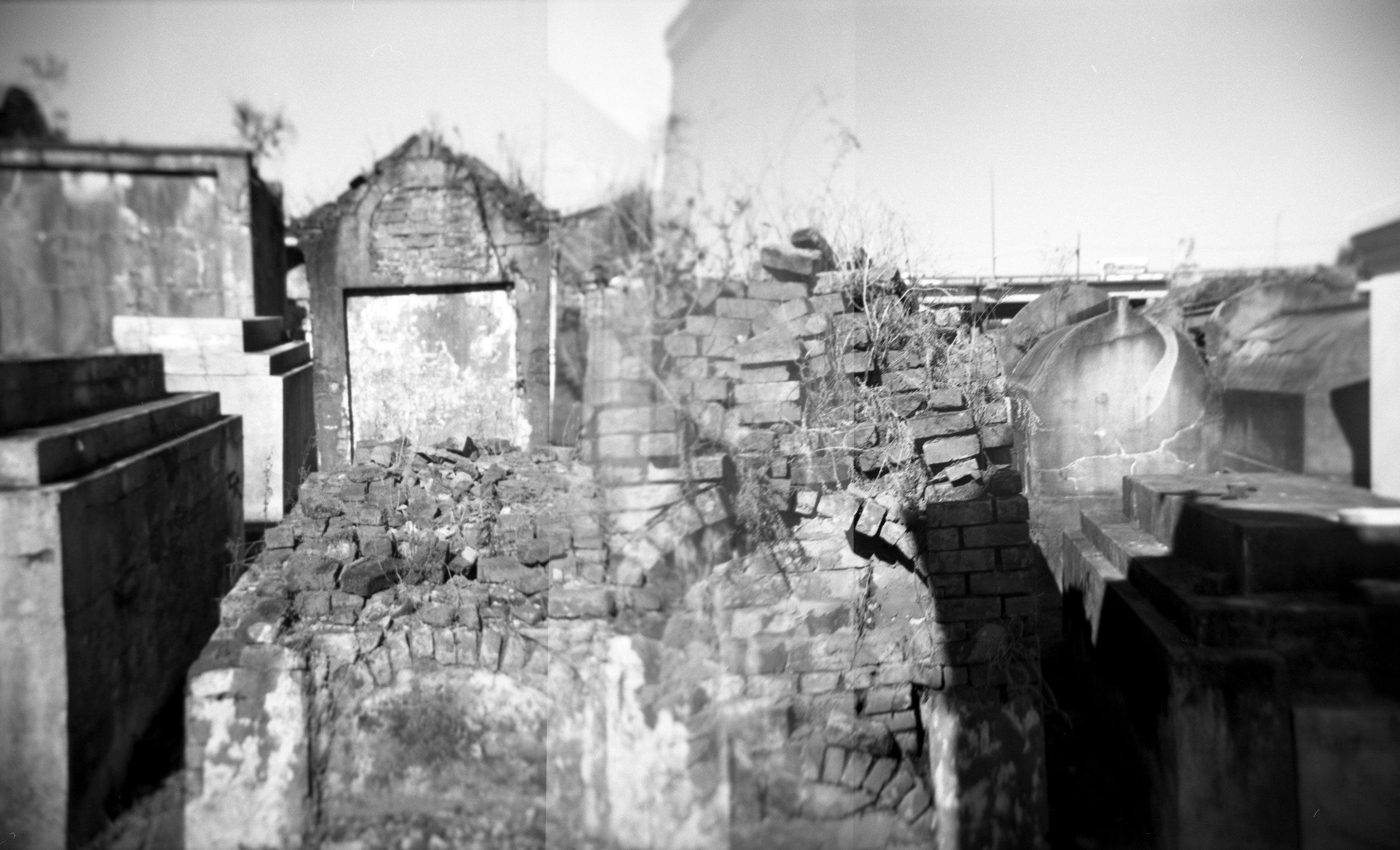 Bricks & Weeds, Double Exposure
