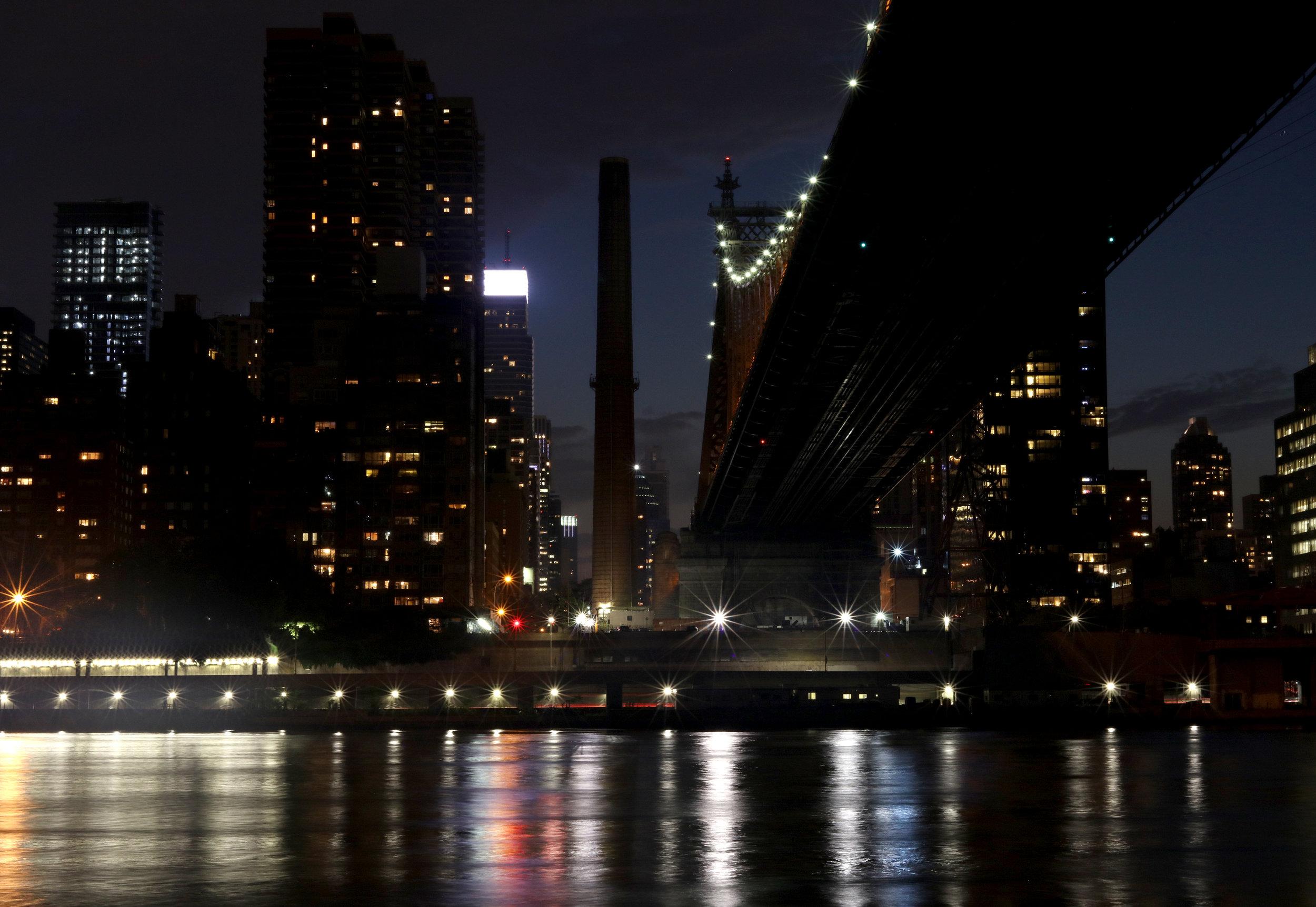 Queensboro Bridge at Night