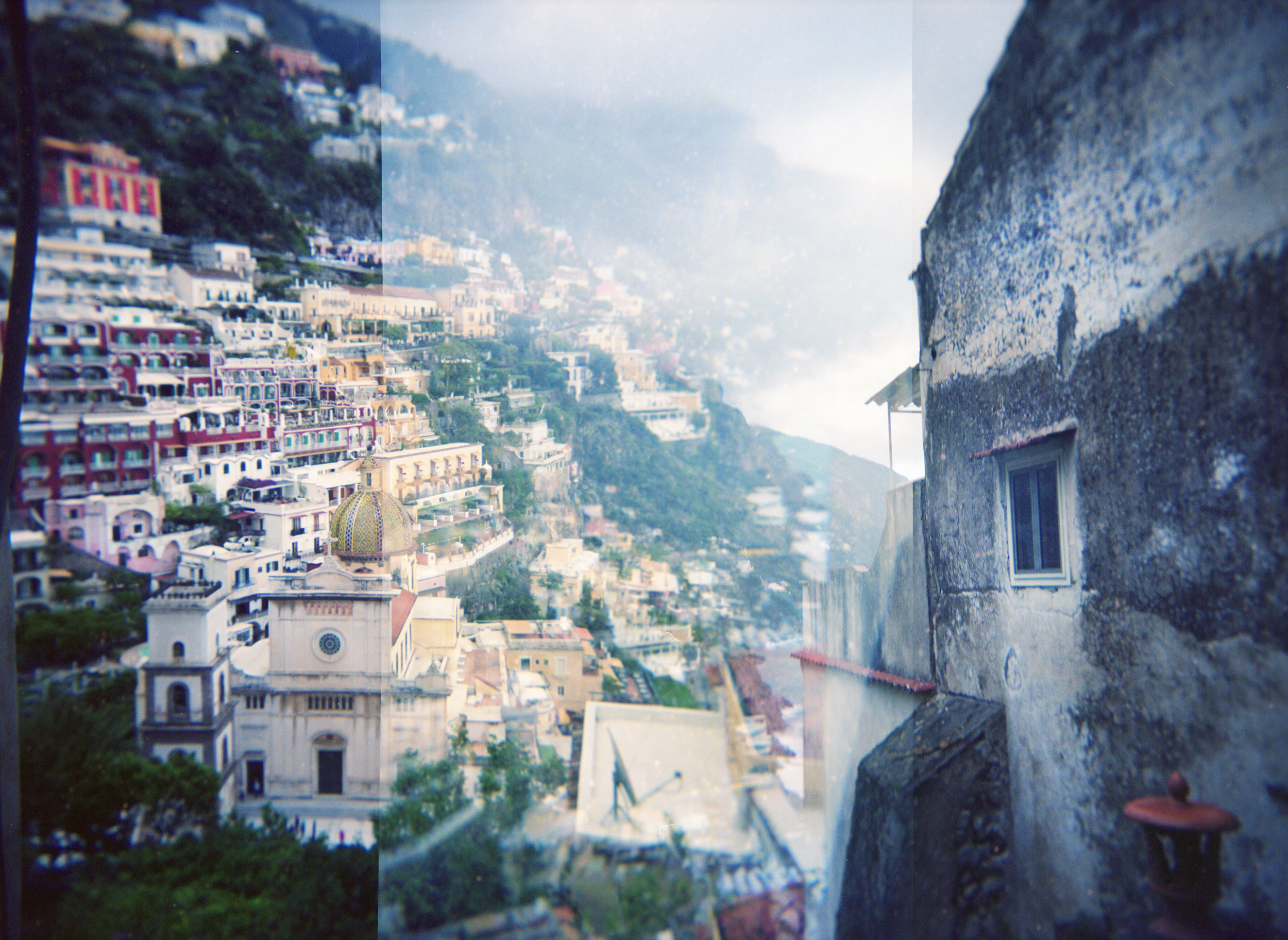 Positano, Double Exposure