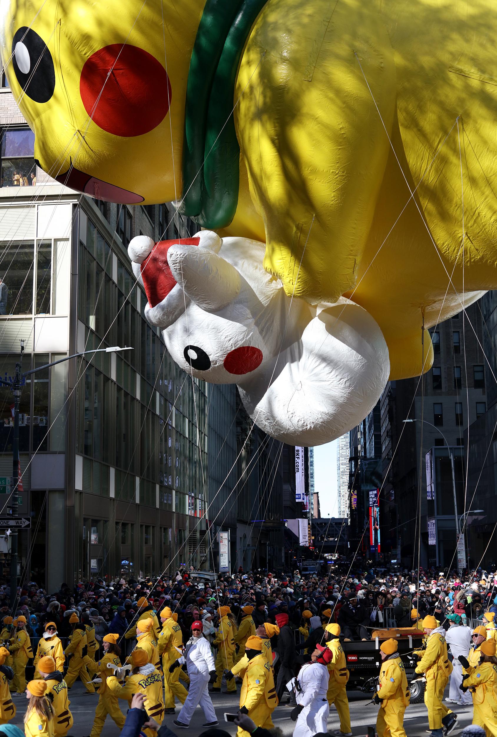 Pokemon, Macy's Thanksgiving Day Parade