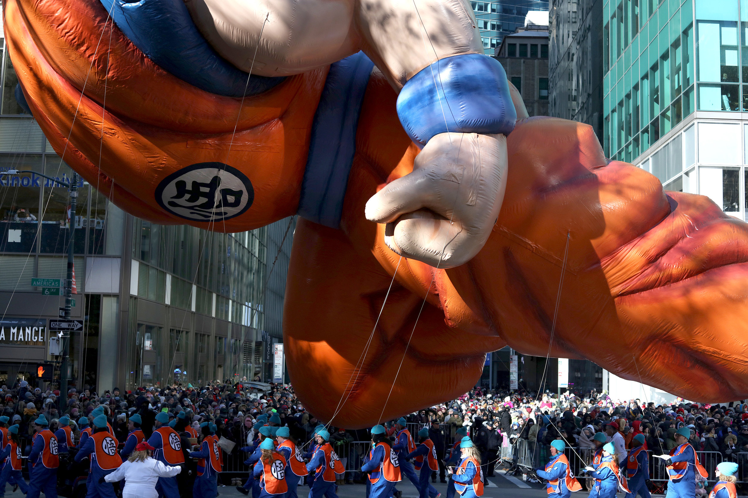 Dragon Ball Z, Macy's Parade
