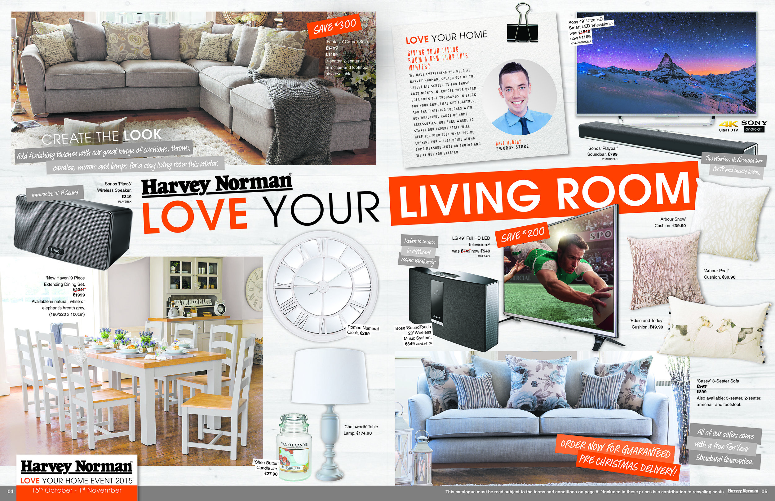 """Love Your Home"" Catalogue Spread"