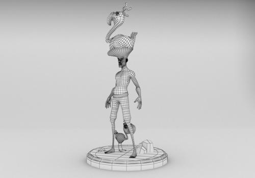 3D work — Jingyi Dou