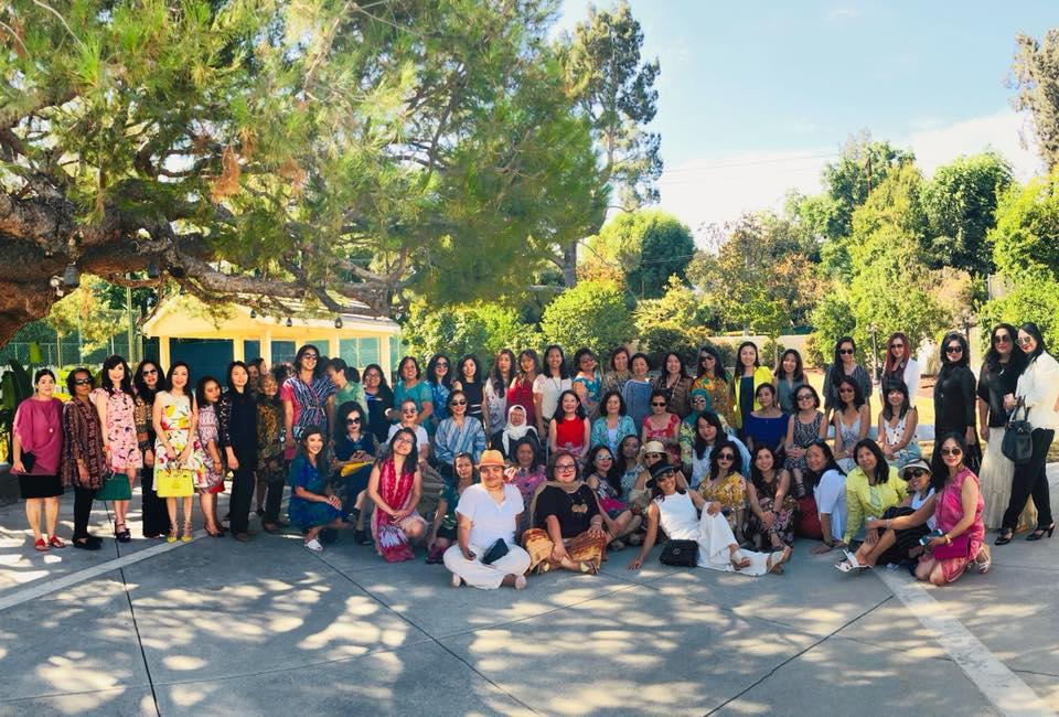 Afternoon Tea Party, July 2018 - Pasadena, California
