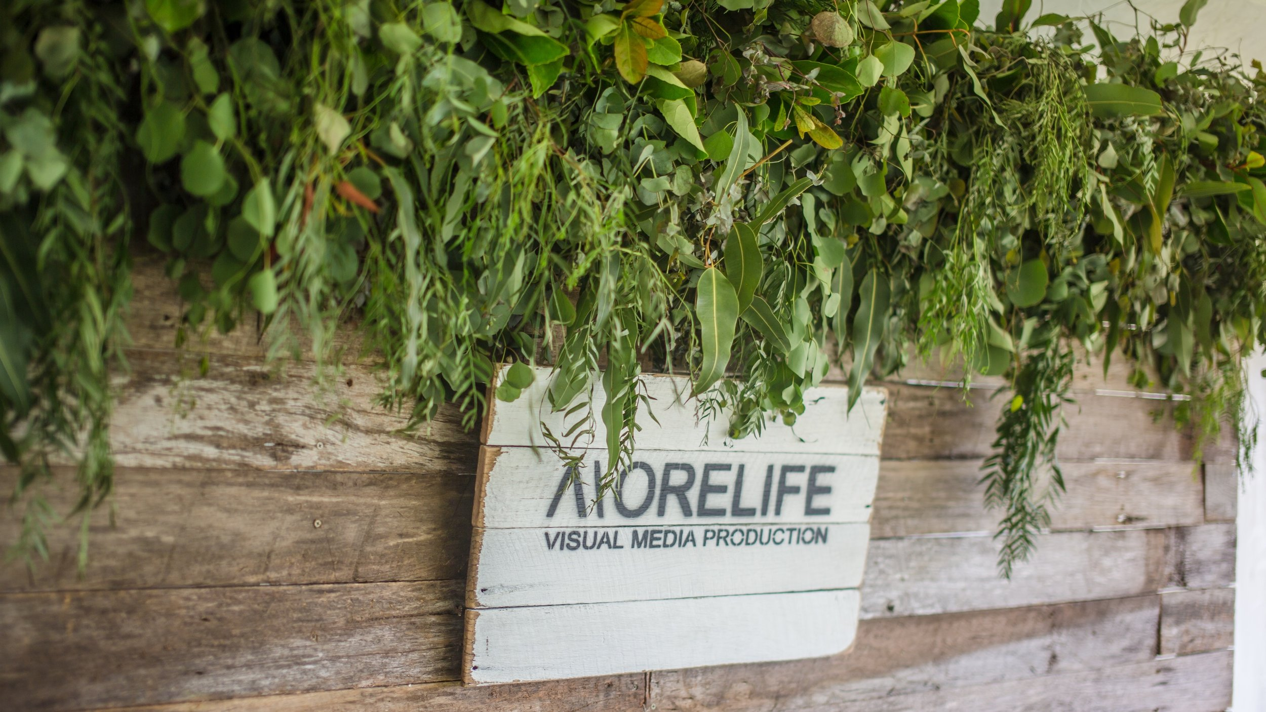 wedding sign morelife media