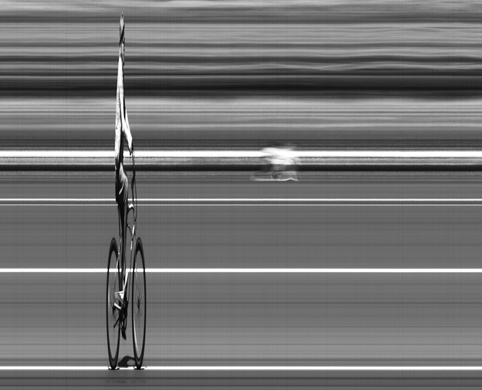 """Cyclist"" 2014. Digital Photograph. 17x22"""