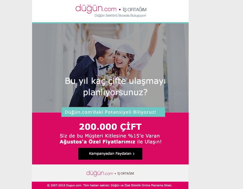 Dugun.com Mailing