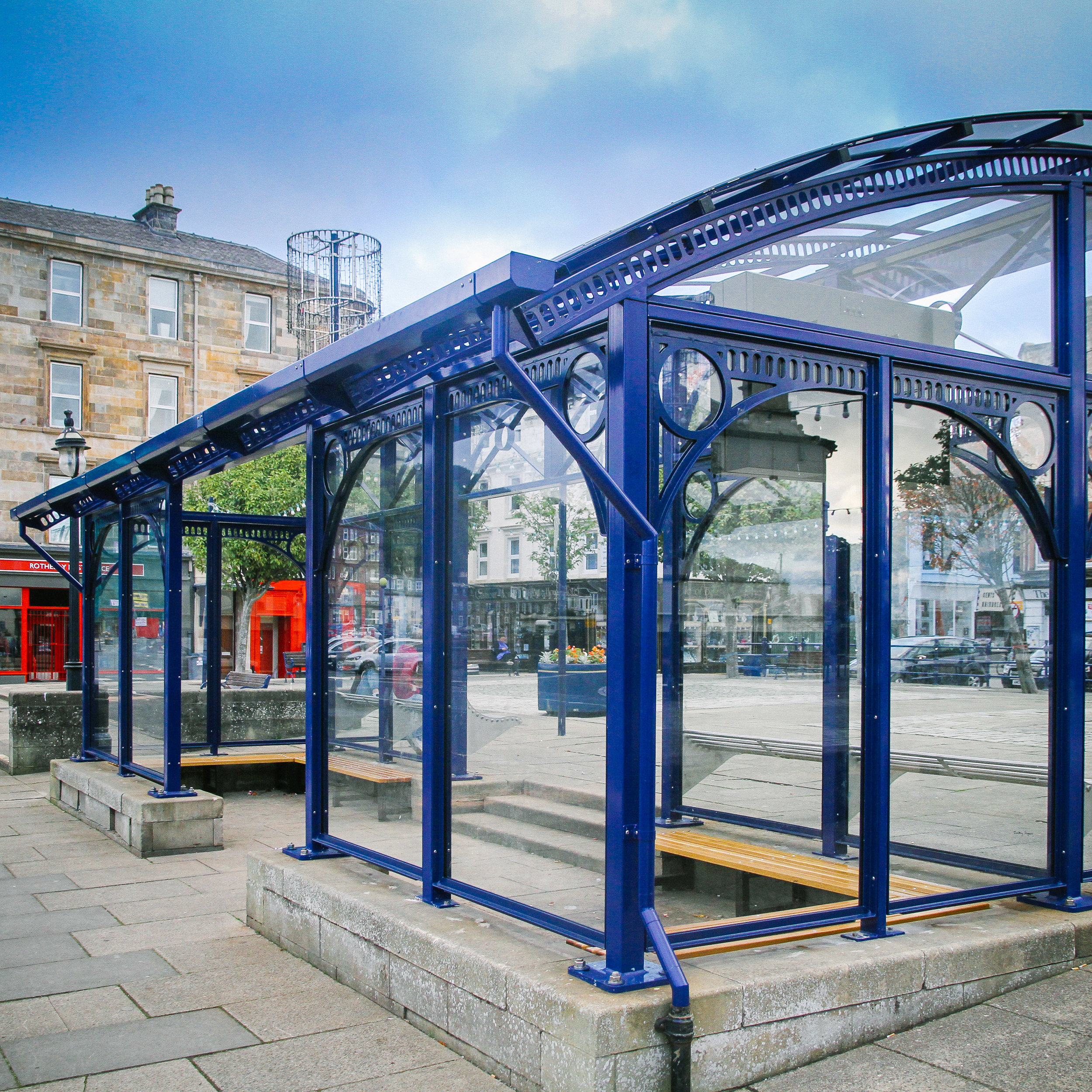 DP Structure Bus Shelter Commercial Structures