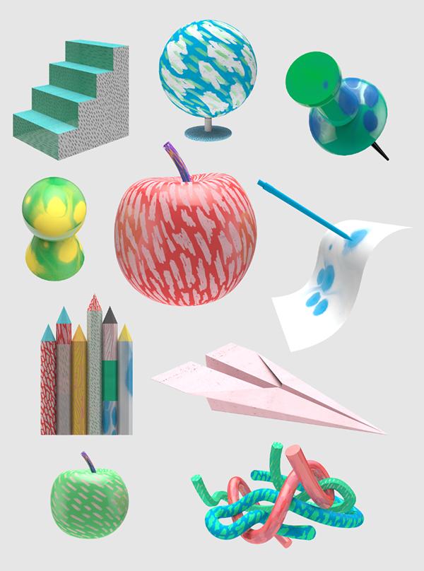Icons for campaign site, För Det Vidare/Skolverket. Agency: Le Bureau. 2014