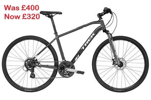 Trek DS 1 2018 - Was £400 - Now £320