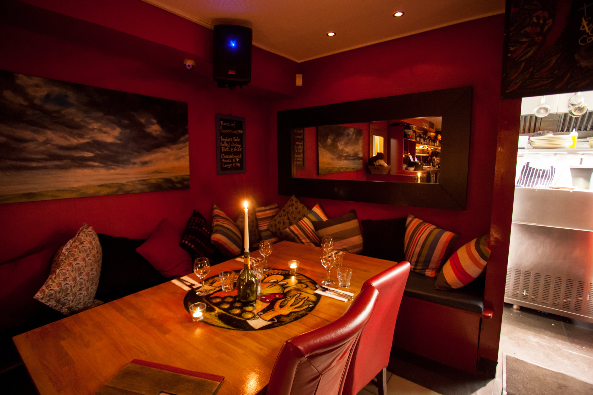 group booking at the brass monkey seafood restaurant, Howth