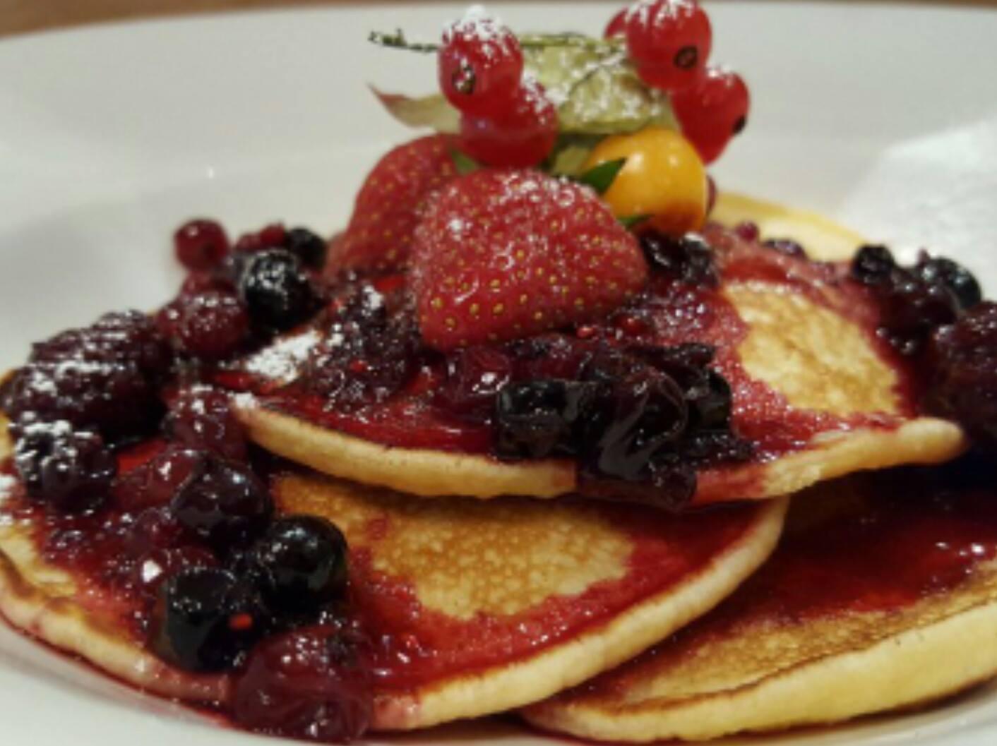 pancakes for brunch at twenty2 restaurant, dublin 9