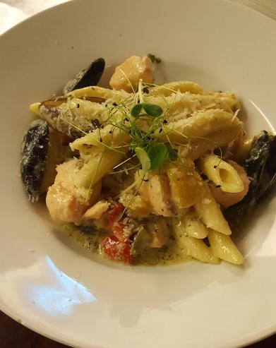 homemade pasta at twenty2 restaurant, dublin 9