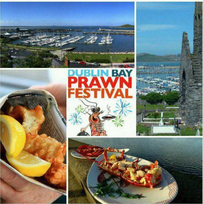 dublin bay prawn festival, Howth