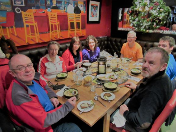 The annual Camino meet up in Howth.
