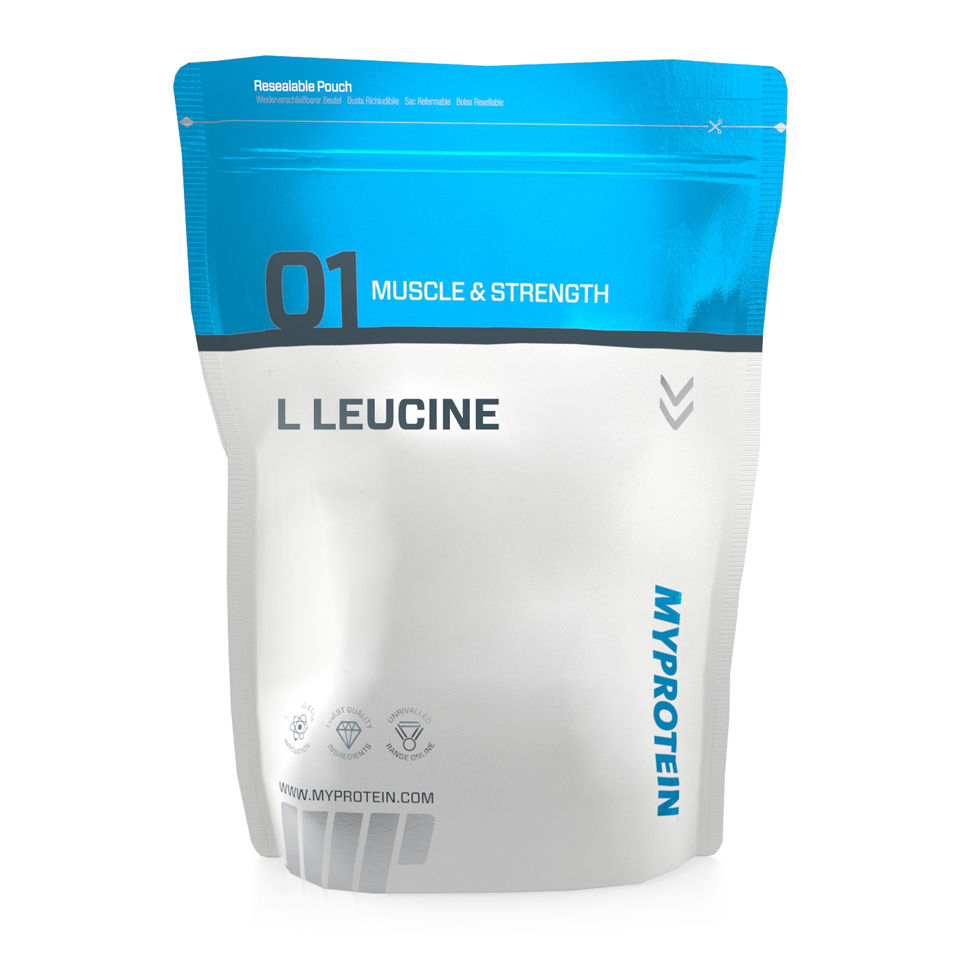 L-Leucine supplements typically sold as a shake (or tabs).