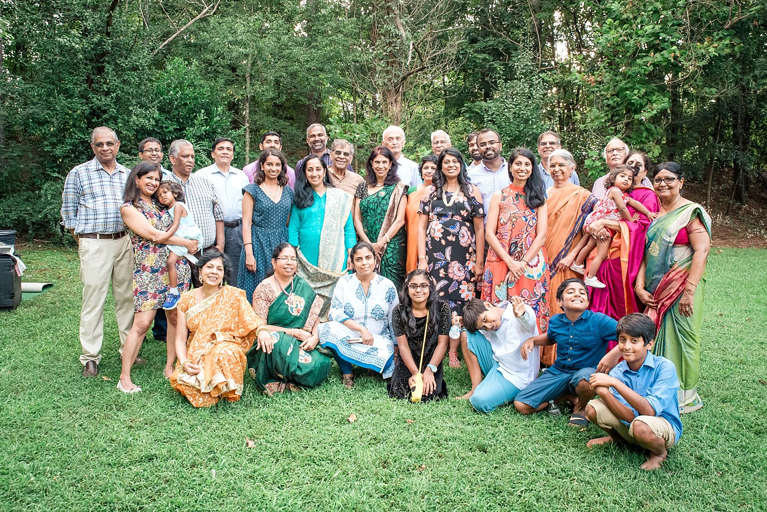 Large Indian Family Picture