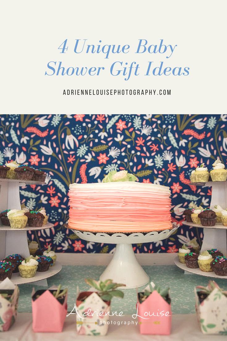 4 Unique Baby Shower Gift Ideas | adriennelouisephotography.com