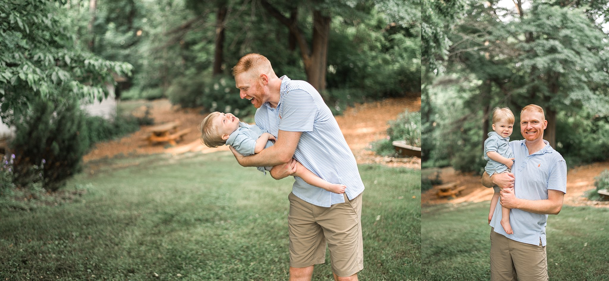 pictures of father and son playing