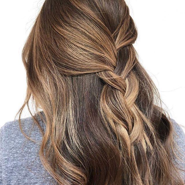 Cream Soda🍦 by @coloredbykp . #salthair #ctsalon #cheshiresalon #cthair #ctbalayage #cthairpainting #brunettebalayage