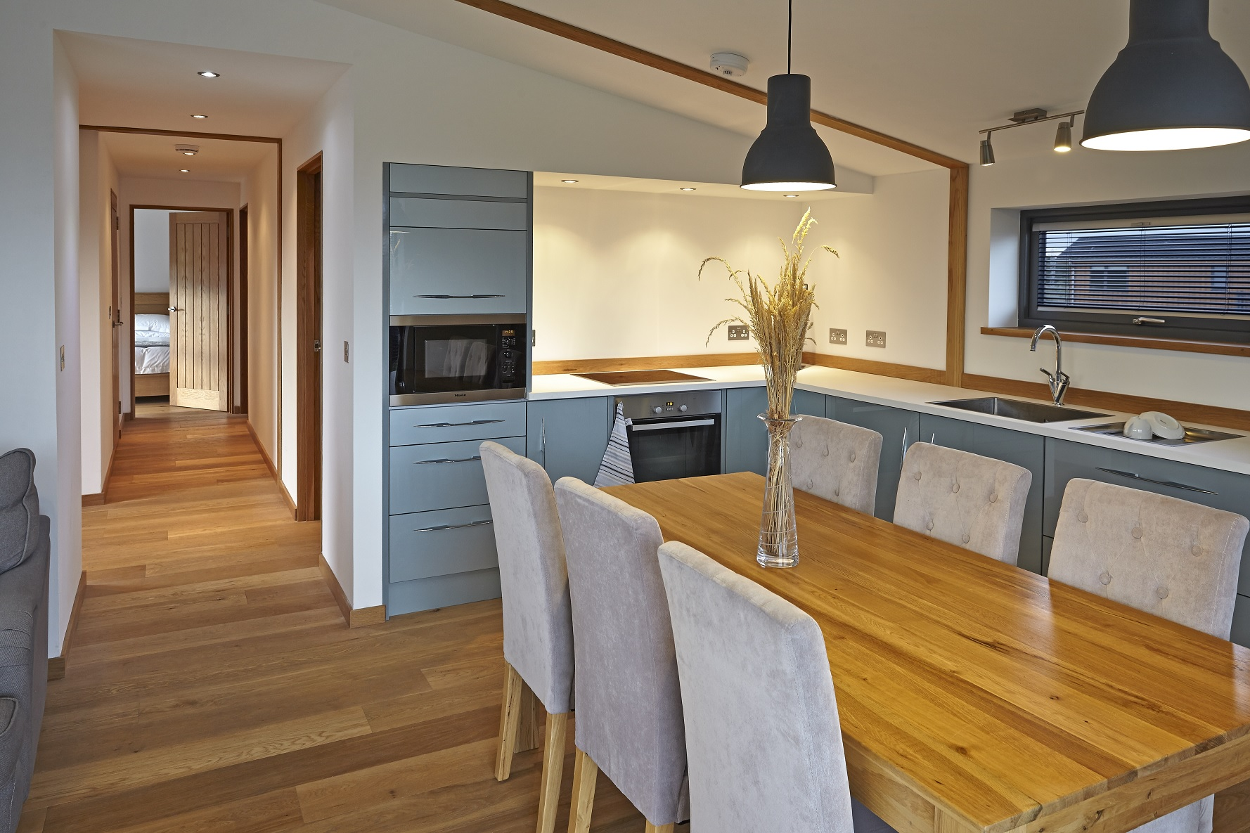 Findhorn Lodge Kitchen