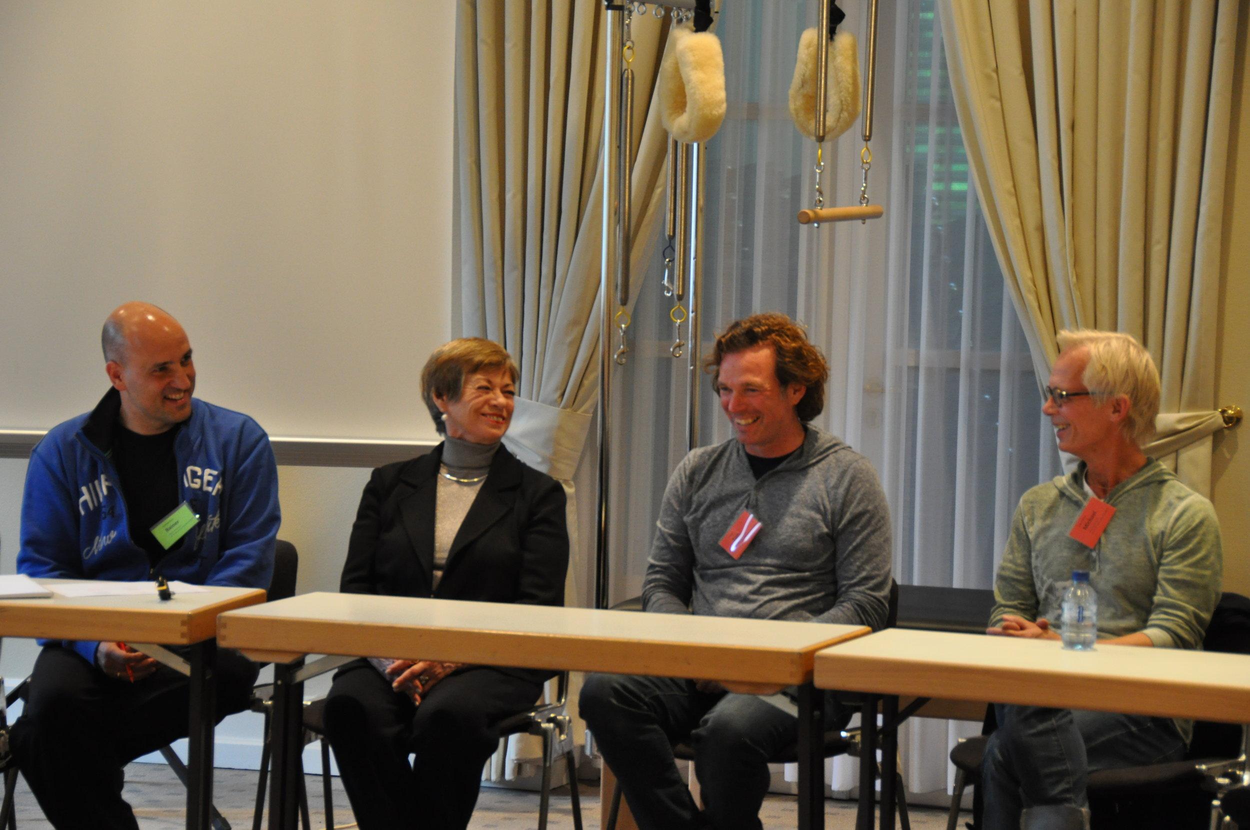 Von links: Reiner Grootenhuis, Lolita San Miguel, Ton Voogt, Michael Fritzke