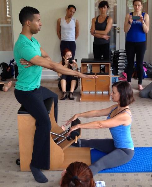 Brett Howard teaches Wunda Chair