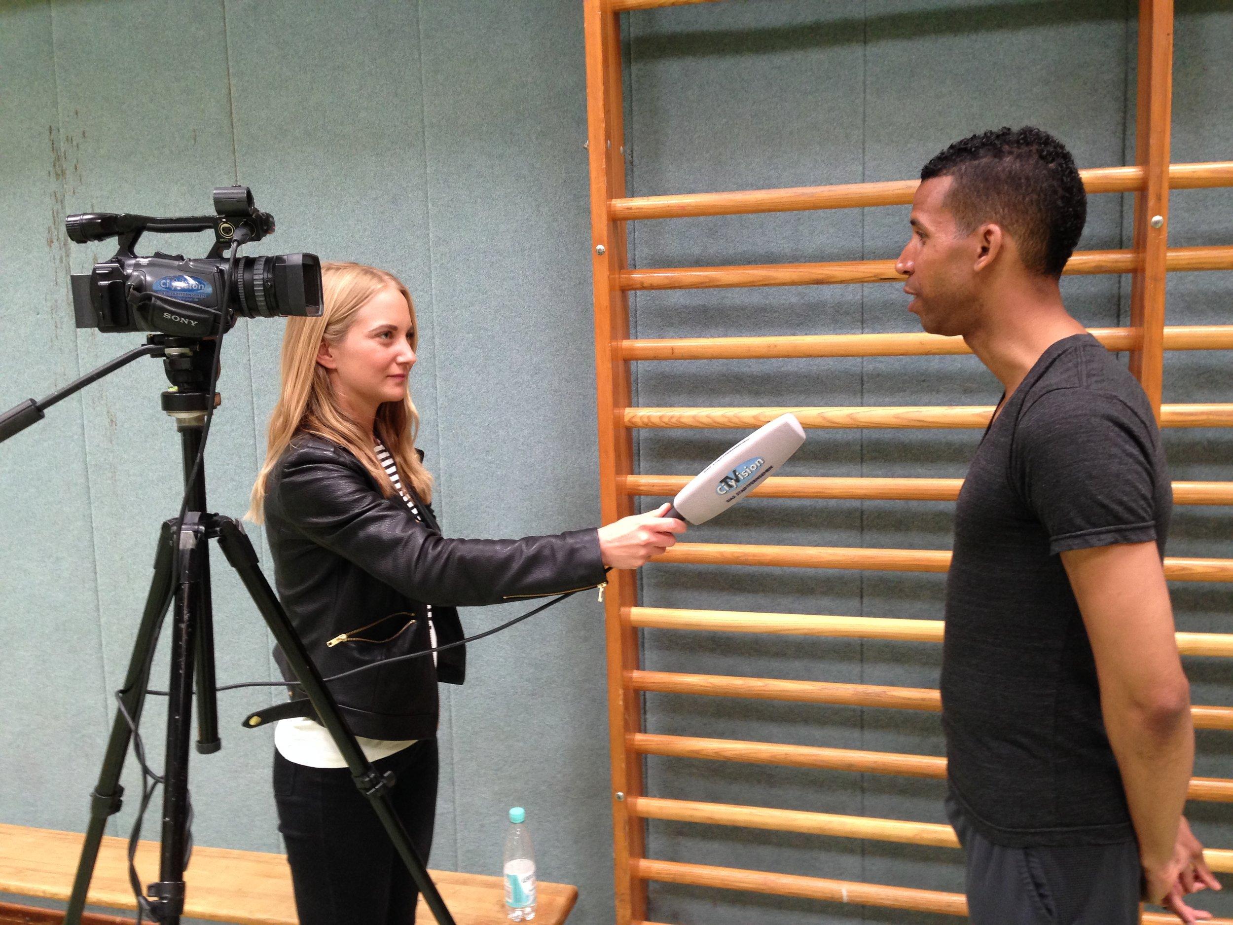 Brett Howard im Interview mit CityVision