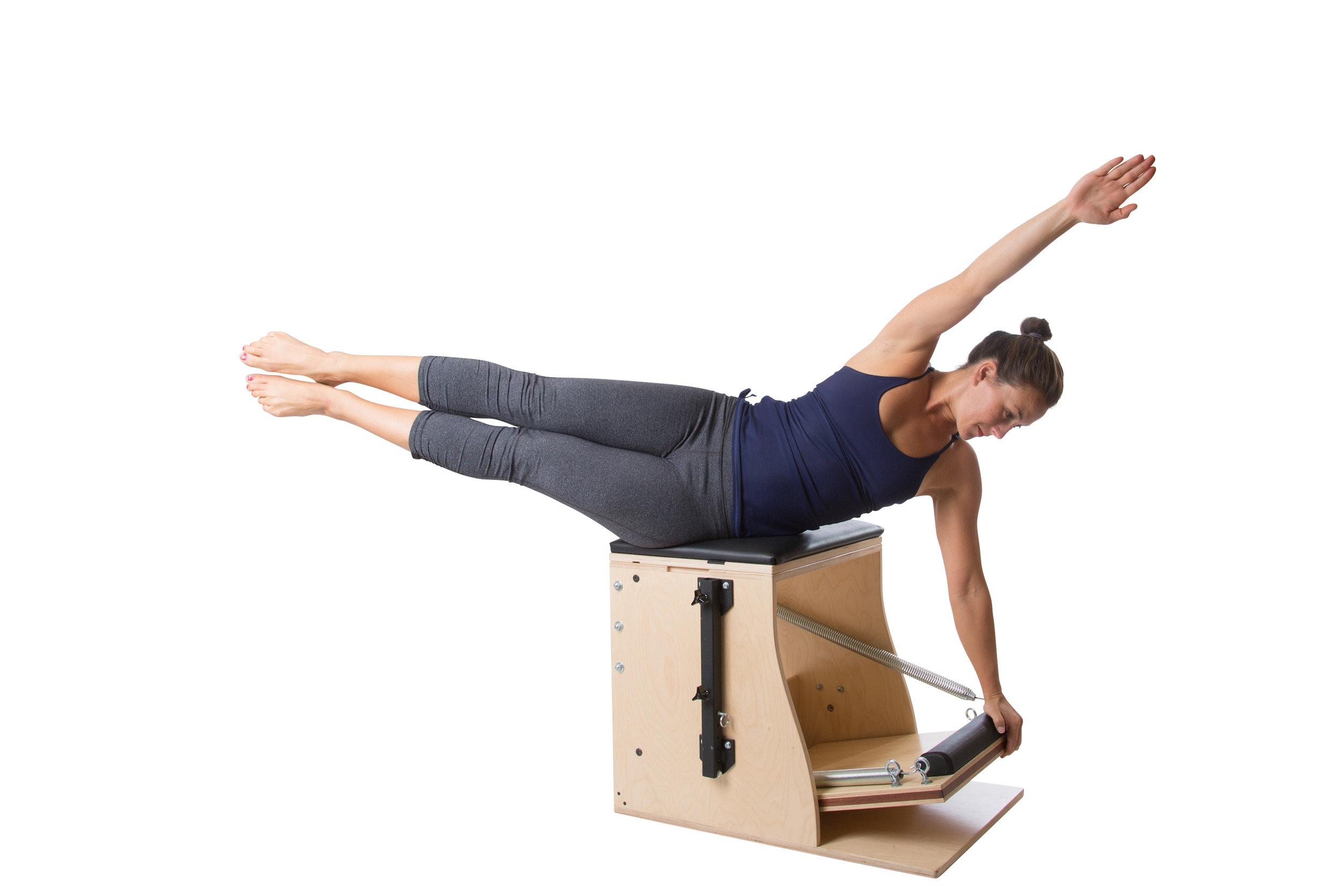 Der Teaser mit Rotation auf dem Wunda Chair fördert die Balance