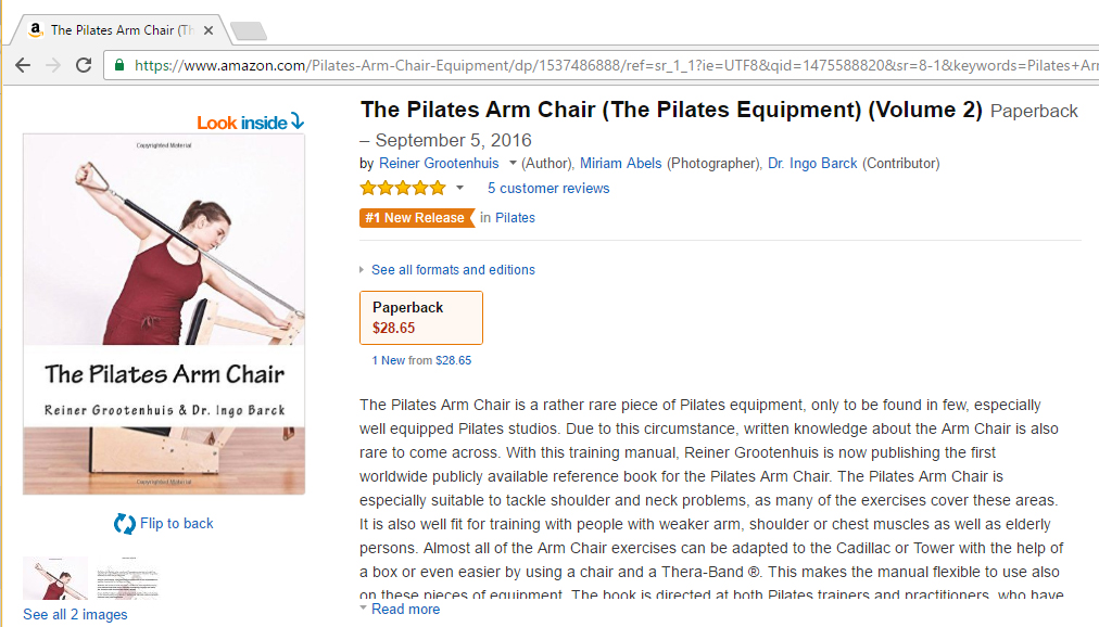 #1 New Release in Pilates on Amazon