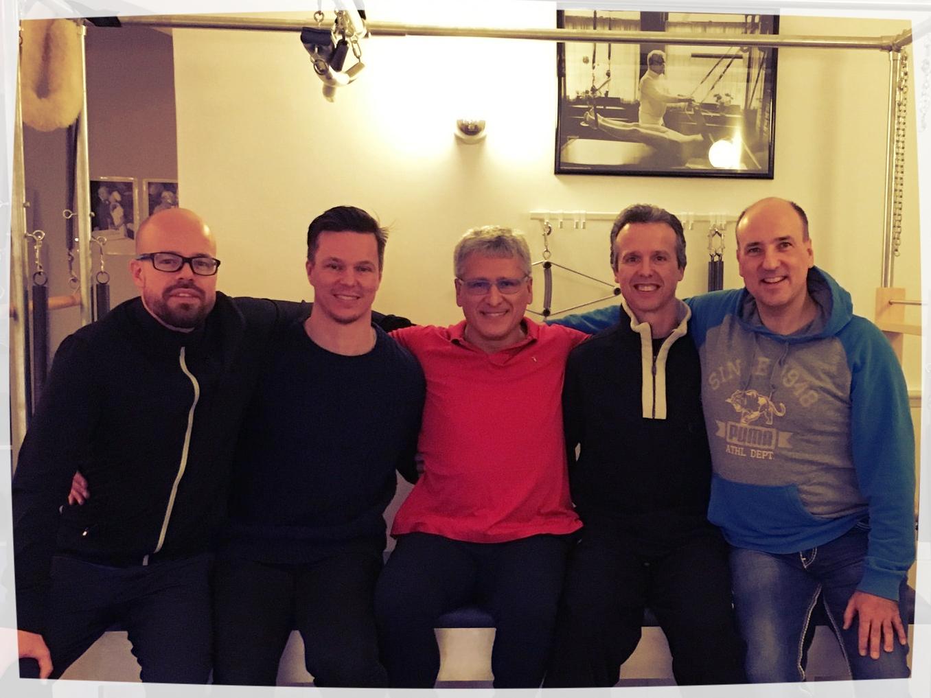 Tony Rockoff aus Hamburg, Fredrik Prag aus Malmö/Schweden, Moses Urbano aus San Diego/USA, Toni Manzanares aus Barcelona/Spanien und Reiner Grootenhuis aus Tönisvorst :-x