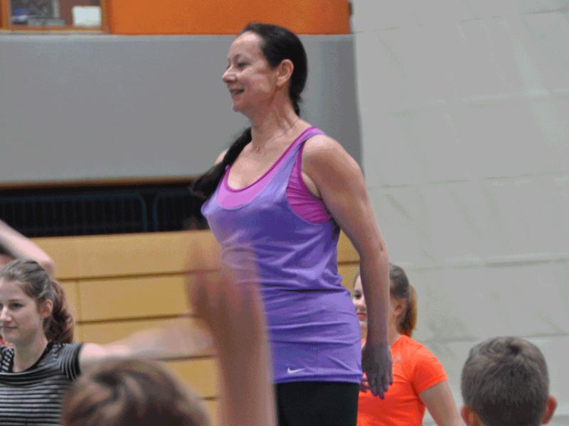 Renata Sabongui aus Prag unterrichtete ...