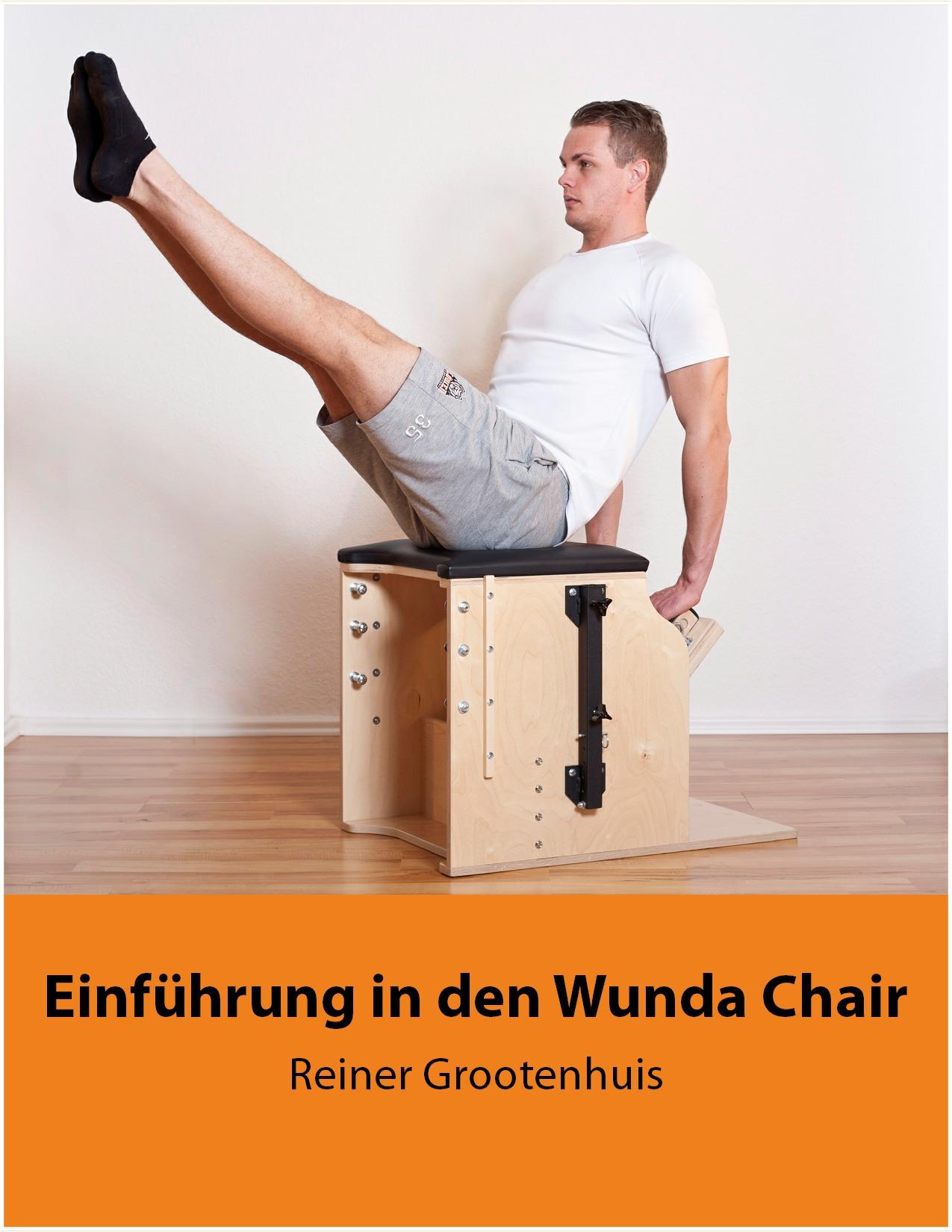 Einführung in den Wunda Chair / Erschienen im September 2015 8 Rezensionen mit 5 Sternen auf amazon.de Hier kannst Du das  Wunda Chair Manual auf amazon bestellen .