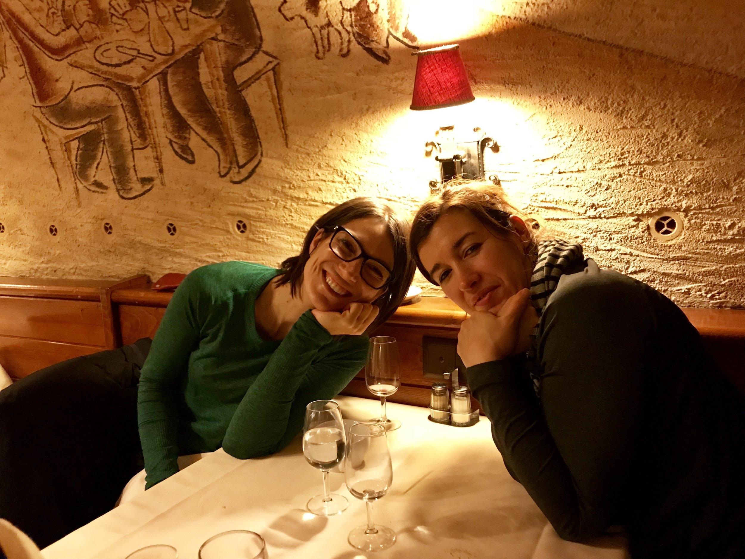 Iva Mazzoleni und Katia Hammouche