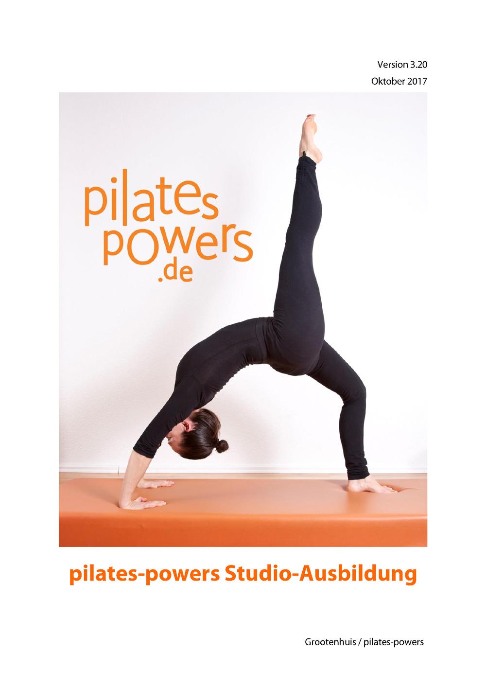 - Unsere Ausbildungsunterlage über alle Aspekte der Pilates Methode.