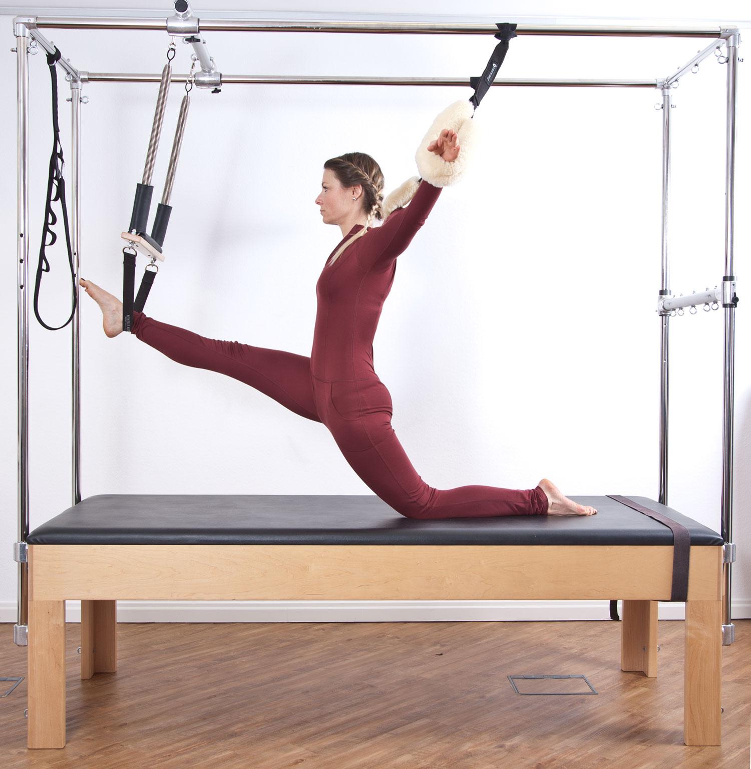 Stretch der Beinrückseiten kombiniert mit Stretch der Hüftbeuger