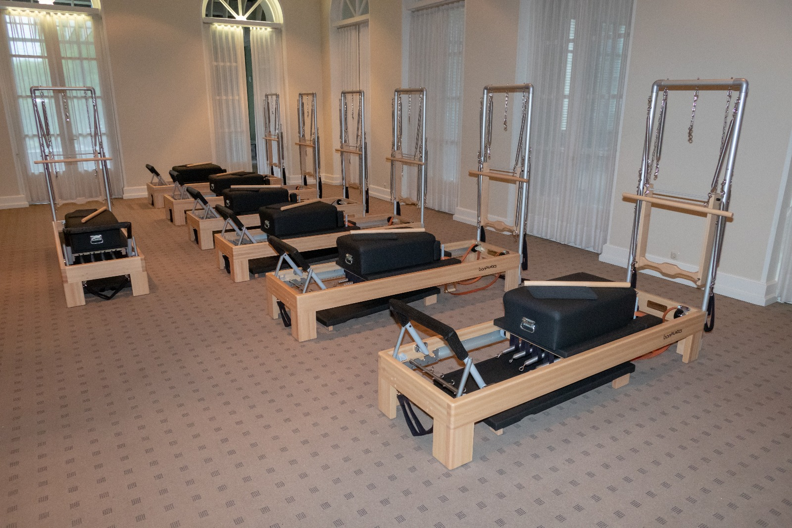 The classic reformer with a tower unit.