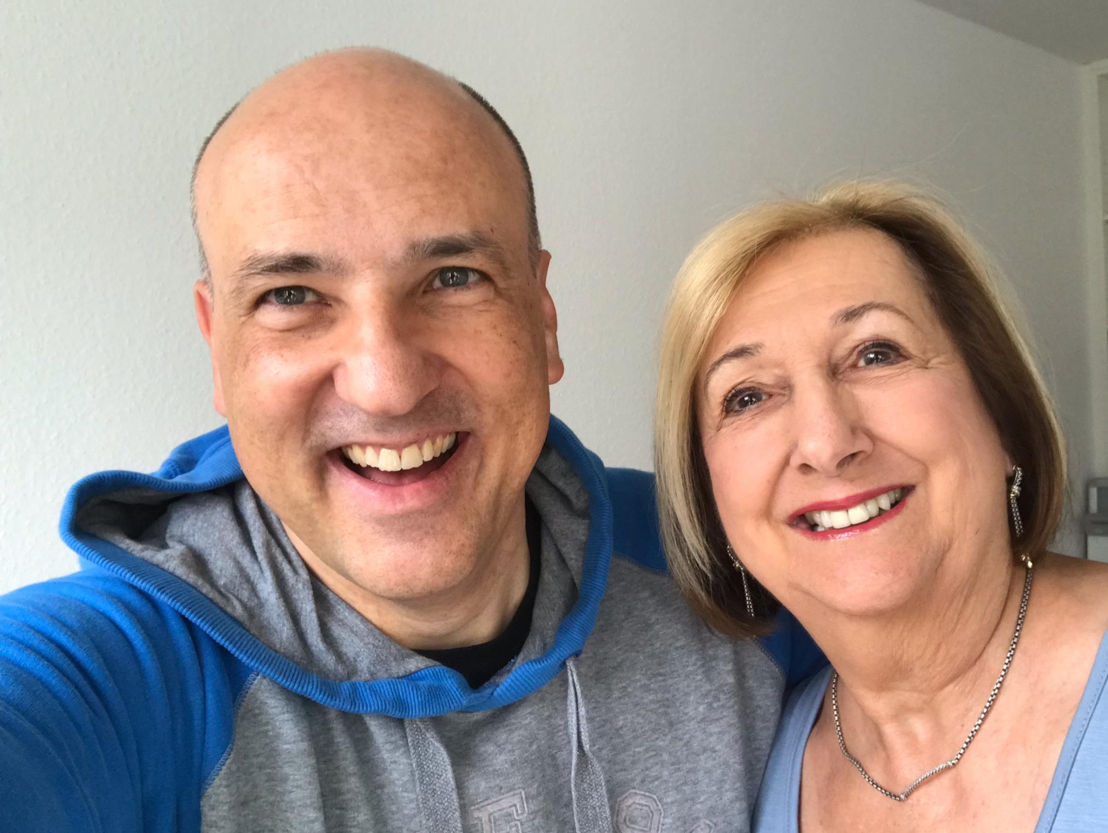 Gemeinsames Foto mit meiner Mentorin Kathy Corey