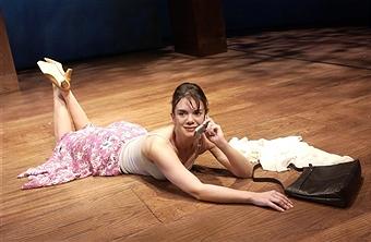 Victoria Hamilton in the 2003 production at the Duke of York's Theatre, London