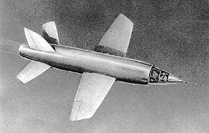 Miles Aircraft's M.52 supersonic jet using engine designed by Frank Whittle
