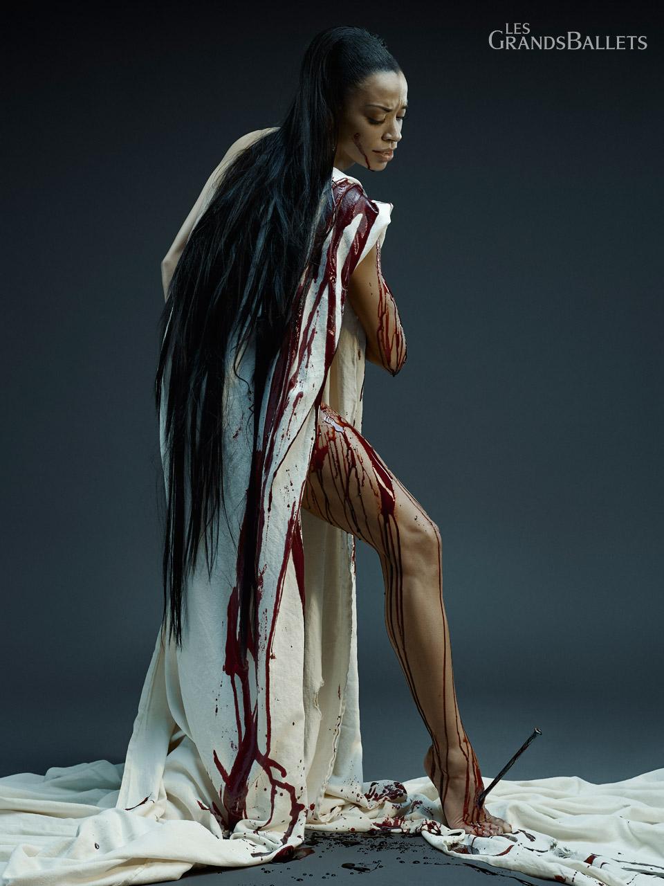 STABAT MATER By  Edward Clug ,Dancer: Vanesa Garcia-Ribala Montoya