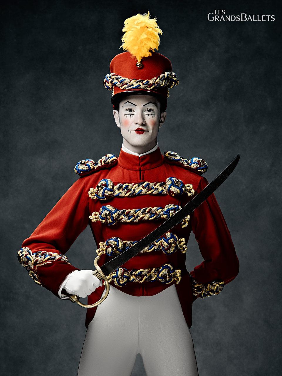Dancer: Jean-Sebastien Couture in make-up by Make Up For Ever.
