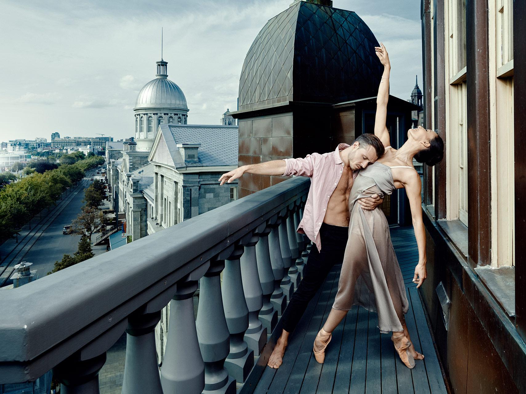 Dancers: Myriam Mechaiekh Simon & Jeremy C.Rai