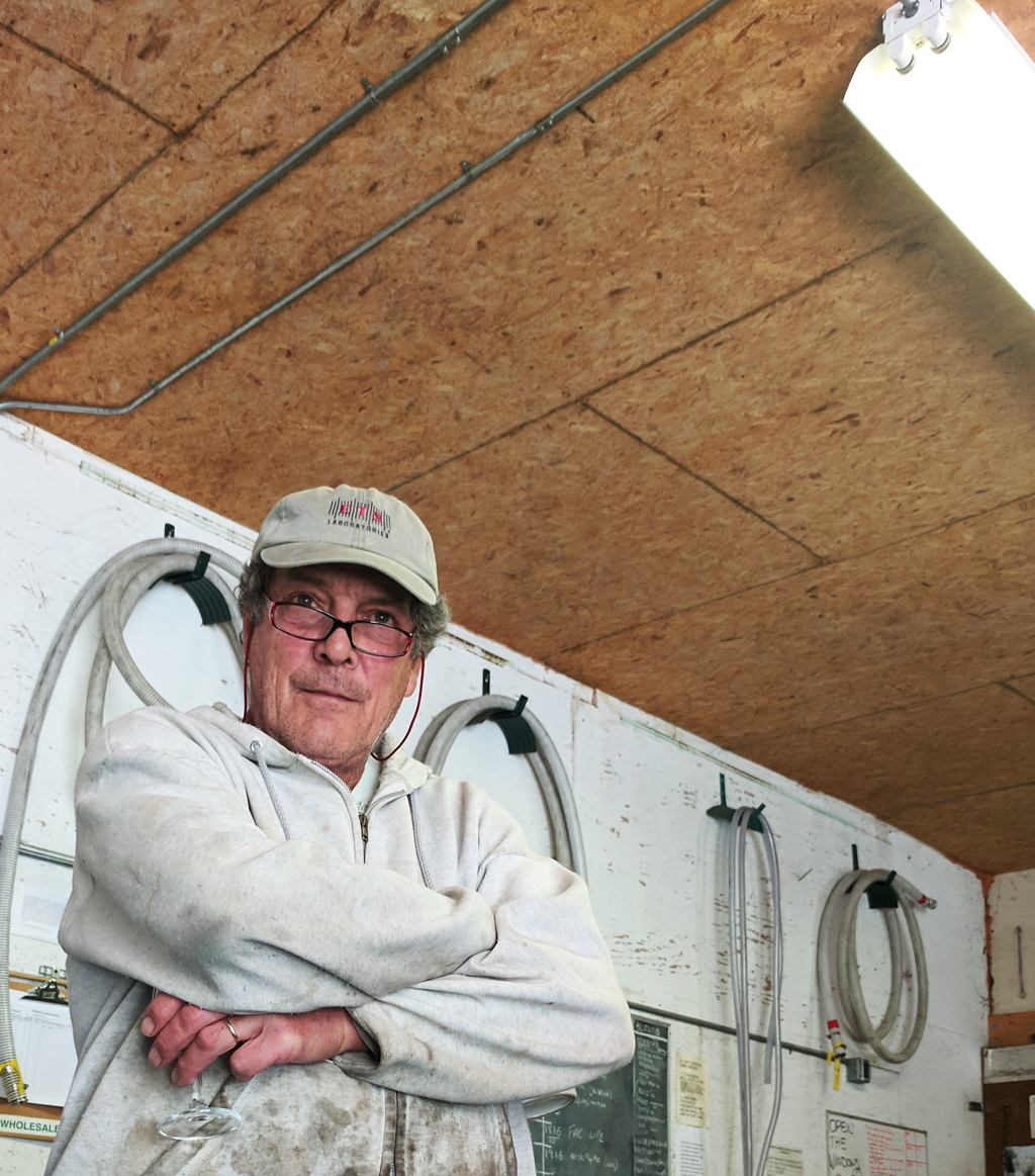 Farnum Hill Cidermaker and Grower Steve Wood