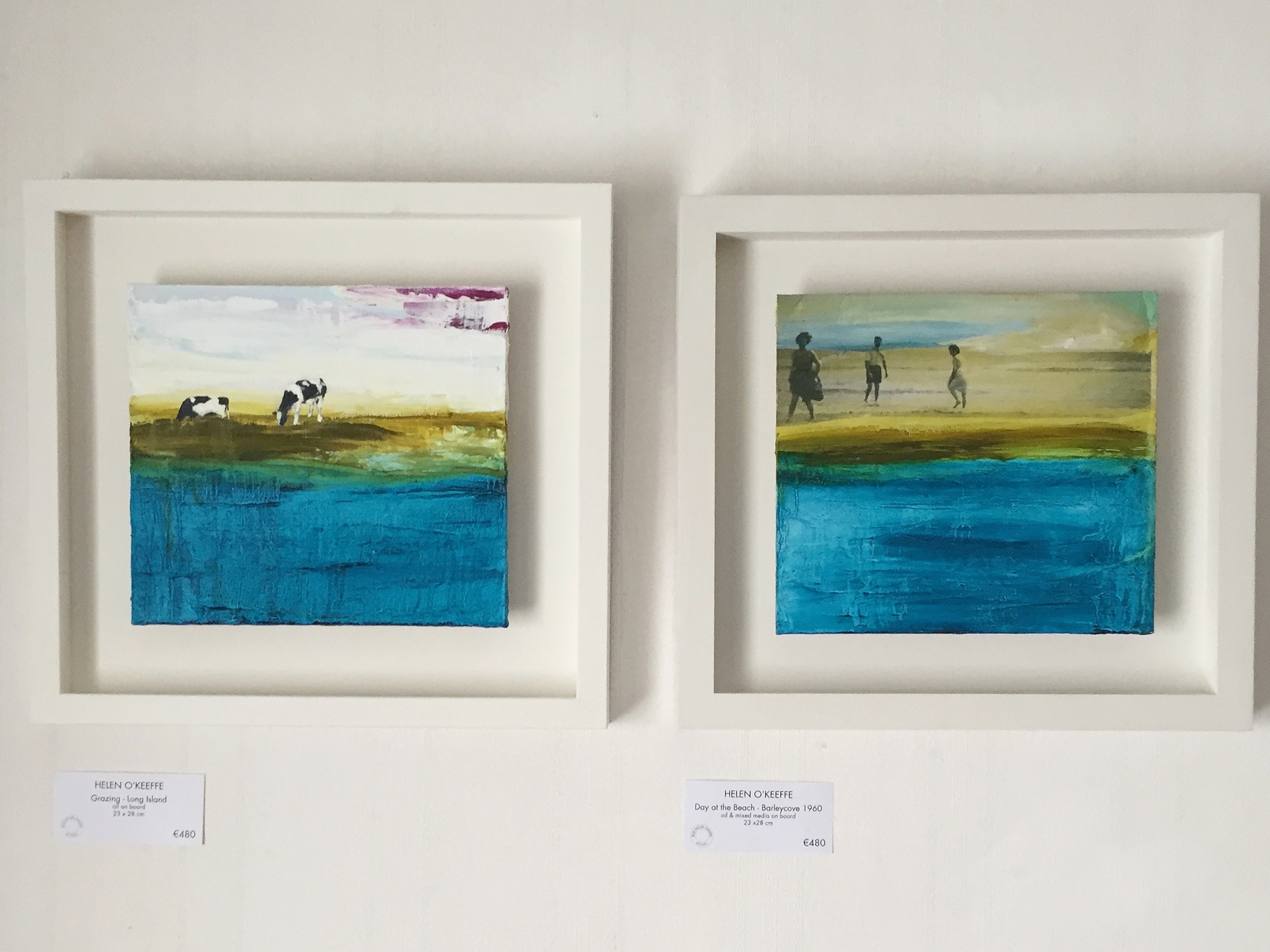 'Island Grazing' & 'Day at the Beach, 1960'
