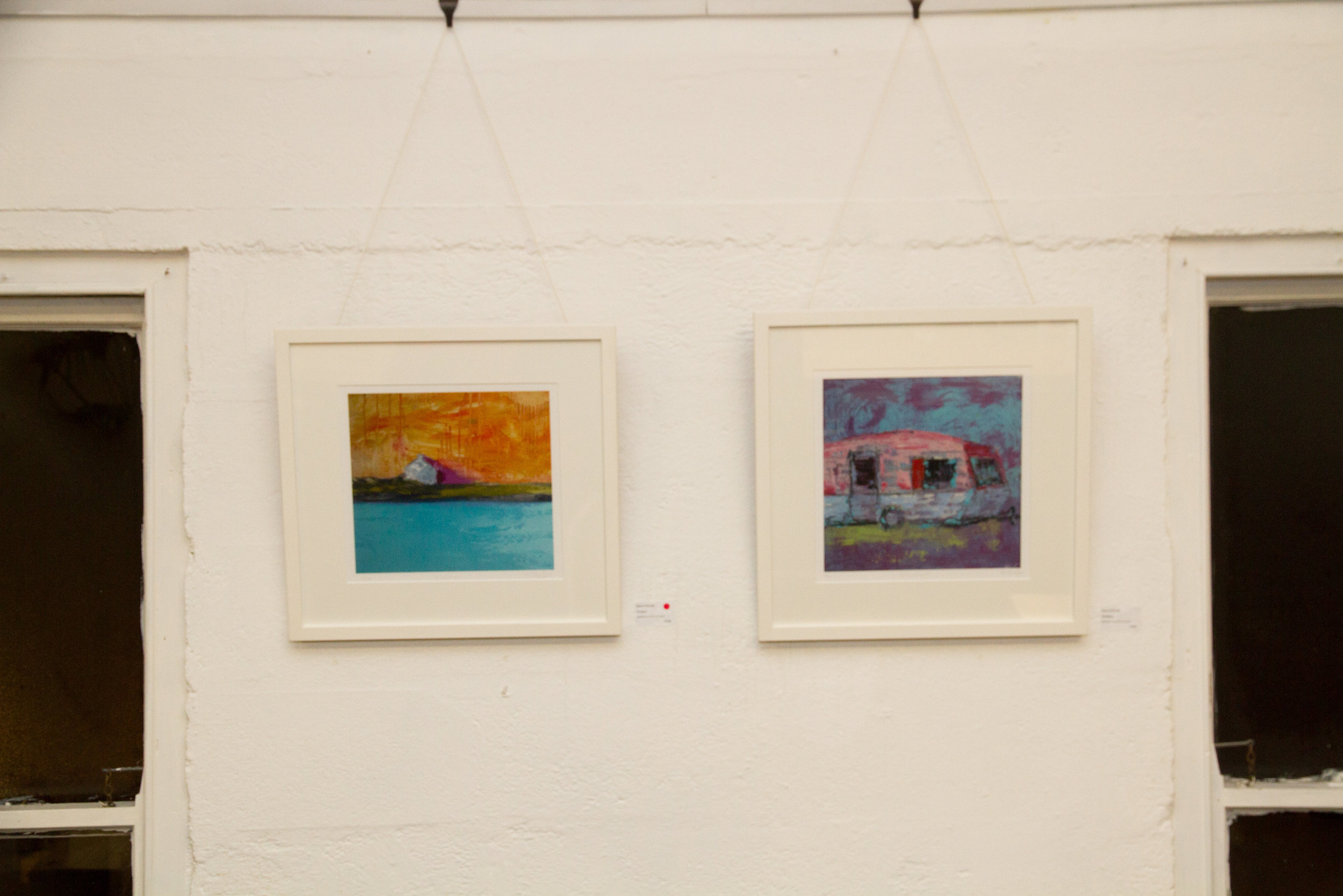 Archival Prints of Helen's paintings (framed) at €220 each.