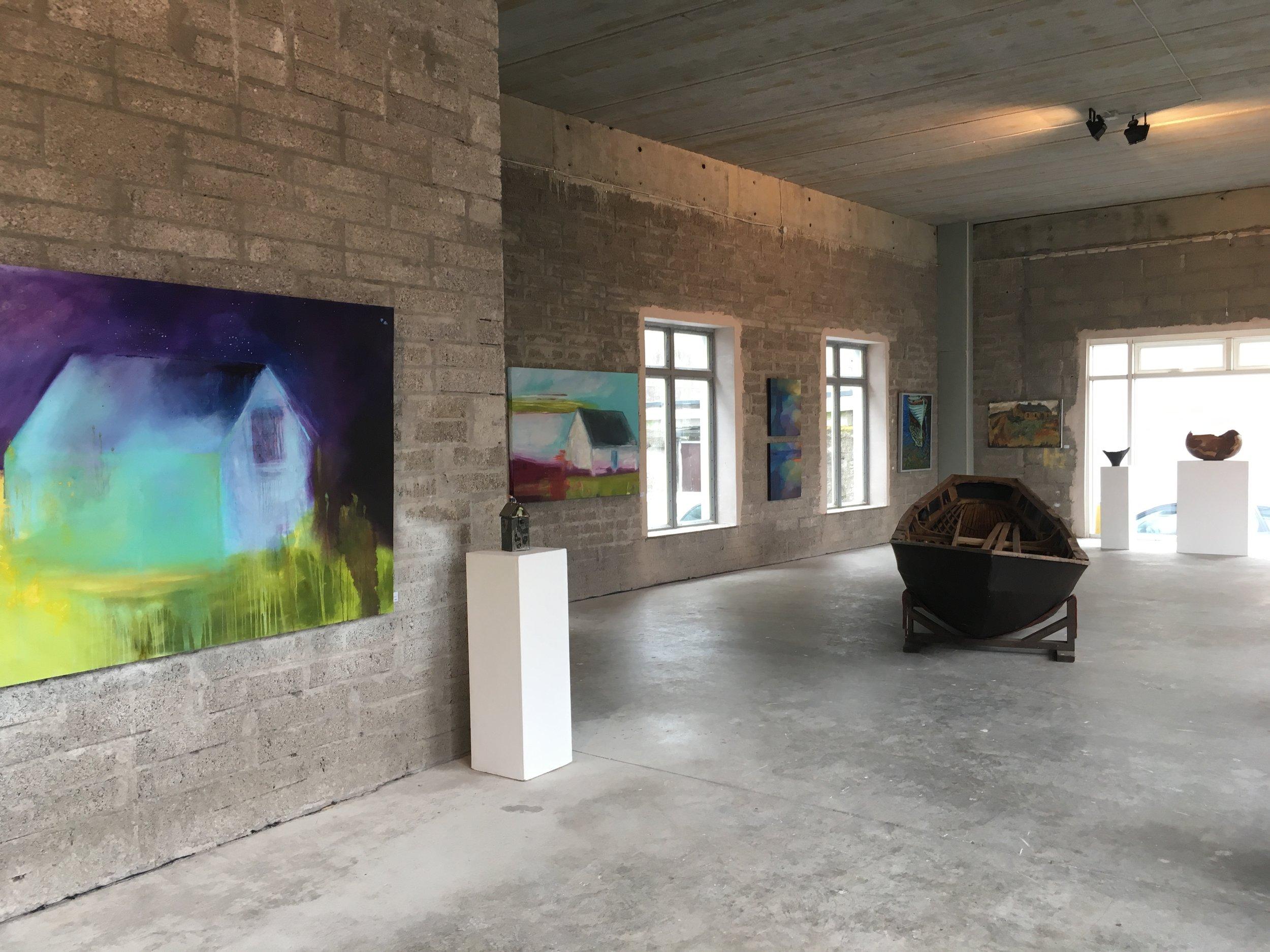 'Under Shelter' Exhibition, O'Driscoll Building, Skibbereen, Co. Cork.