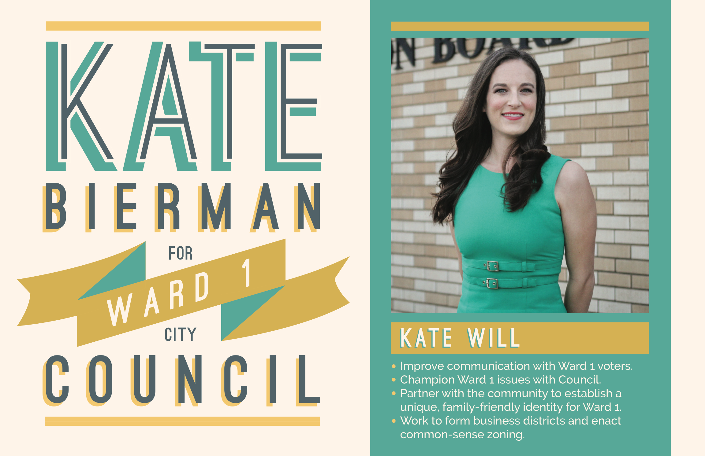 Kate Bierman, Ward 1 City Council Member | Norman City Council Campaign