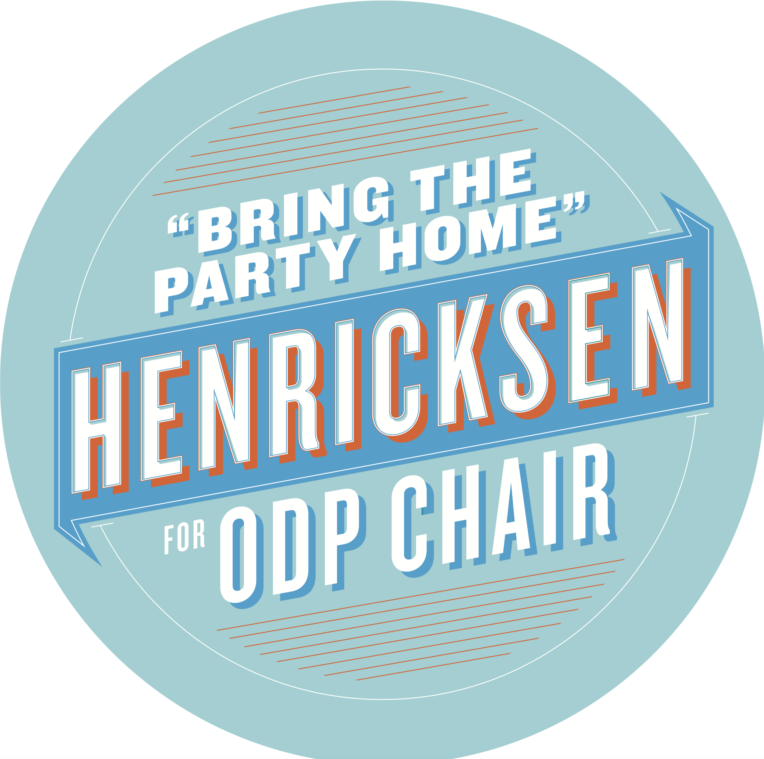 Henricksen for ODP Chair Type Treatment/Button Design