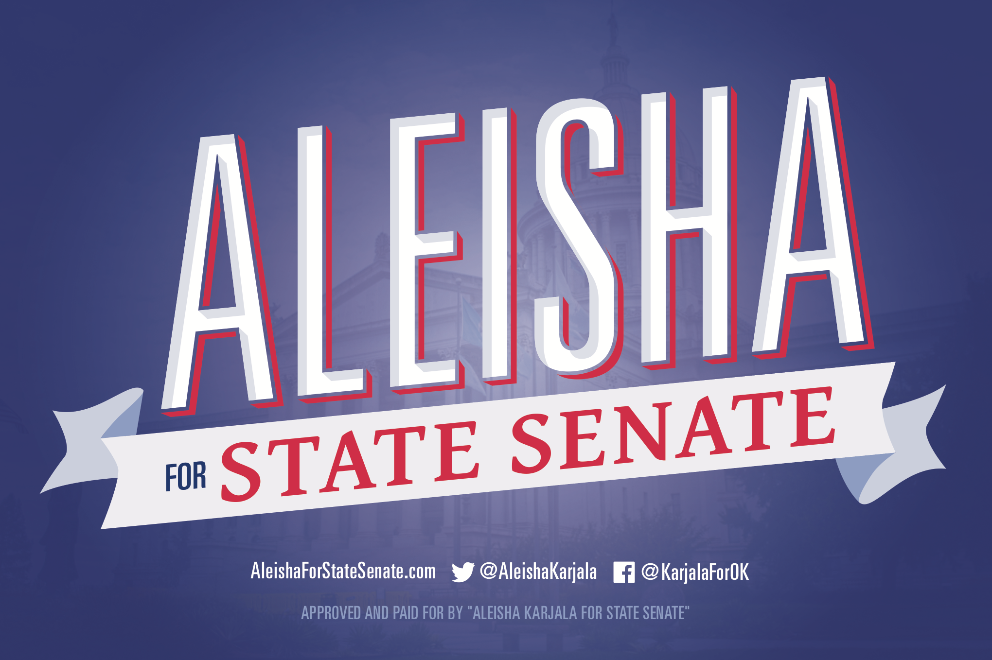 Aleisha for State Senate District 16 | State Senate Campaign
